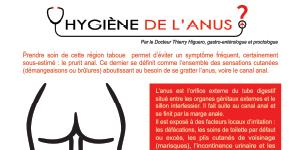 Hygiène de l'anus – Fiche pratique